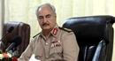 """Tướng Lybia Khalifa Haftar tuyên bố """"sốc"""" tại Palermo"""