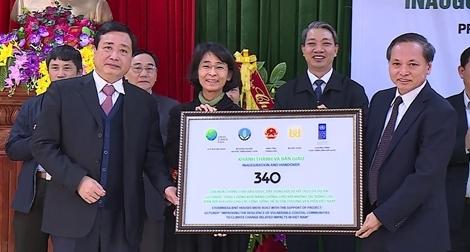 UNDP bàn giao 340 căn nhà an toàn cho người dân Thanh Hóa