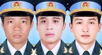 Quyết định truy thăng quân hàm cho 3 phi công hy sinh1
