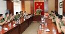 Thứ trưởng Bùi Văn Nam kiểm tra công tác Phòng Bảo vệ 180