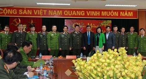 Thứ trưởng Bùi Văn Thành làm việc với Công an quận Hai Bà Trưng, Hà Nội