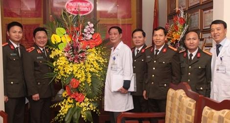 Tổng cục Chính trị CAND chúc mừng Ngày Thầy thuốc Việt Nam
