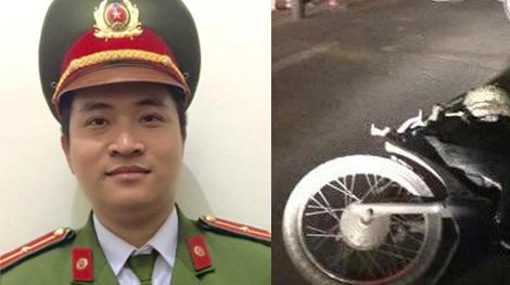 Thiếu uý Cảnh sát trật tự nhanh trí bắt đối tượng trộm xe máy