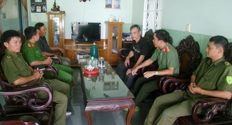 Công an huyện Cư Jút thực hiện tốt 6 điều Bác Hồ dạy