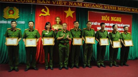 ĐH Cảnh sát nhân dân sơ kết 1 năm thực hiện Chỉ thị 05 của Bộ Chính trị
