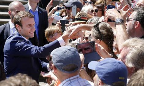 Bầu cử Quốc hội Pháp: Đảng của Tổng thống Macron thẳng tiến