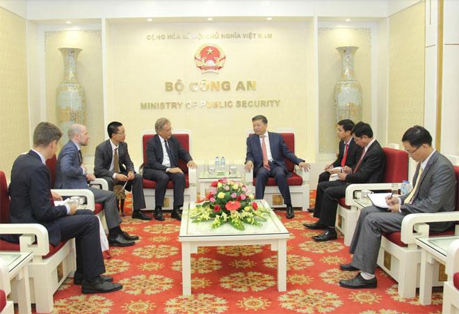 Bộ Công an Việt Nam và Viện nghiên cứu Malik tăng cường hợp tác