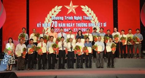 Công ty Trung Nam ủng hộ 500 triệu đồng cho quỹ đền ơn đáp nghĩa huyện Nhà Bè