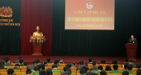 Phong trào Thanh niên góp phần vào từng chiến công của Công an Thủ đô