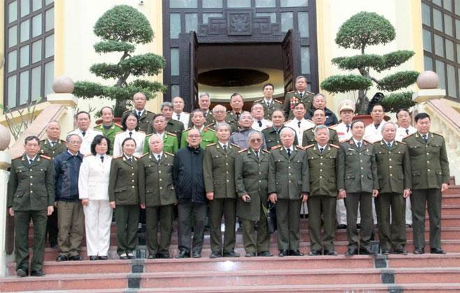 Ban liên lạc Công an chi viện chiến trường miền Nam triển khai công tác năm 2018