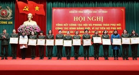 Hội Phụ nữ Tổng cục HC-KT triển khai công tác năm 2018