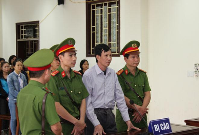 Bị cáo Nguyễn Văn Túc trước Hội đồng xét xử.