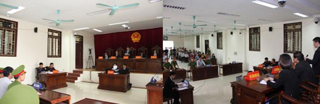 Hội đồng xét xử vụ án Nguyễn Văn Túc.