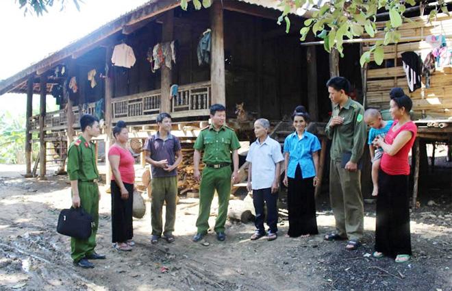 Công an tỉnh Sơn La điều động hơn 600 CBCS xuống địa bàn cơ sở