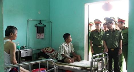 Thứ trưởng Nguyễn Văn Sơn kiểm tra công tác tại Trại giam Ngọc Lý