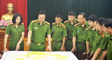 Trưởng Công an huyện với 106 lần vào rừng phá án