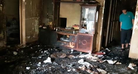 Cảnh sát phòng cháy kịp thời cứu 3 người ngạt khói do cháy nhà