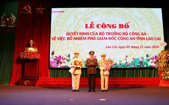 Công bố quyết định bổ nhiệm hai Phó giám đốc Công an tỉnh Lào Cai - Ảnh minh hoạ 4