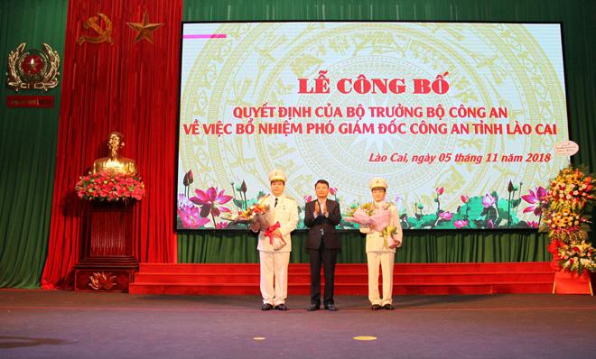 Công bố quyết định bổ nhiệm hai Phó giám đốc Công an tỉnh Lào Cai - Ảnh minh hoạ 5