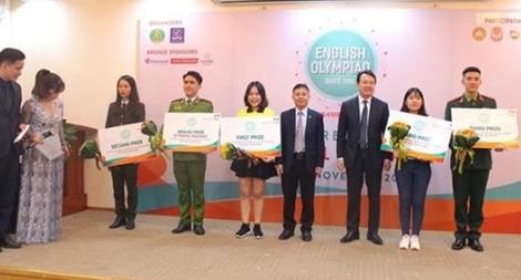 Học viện CSND và Học viện ANND giành thứ hạng cao tại Cuộc thi Olympic tiếng Anh chuyên toàn quốc
