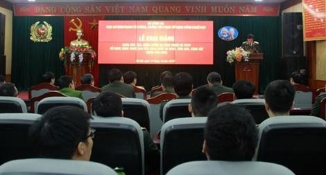 Khai giảng khóa đào tạo, huấn luyện an ninh mạng và phòng chống tội phạm sử dụng công nghệ cao