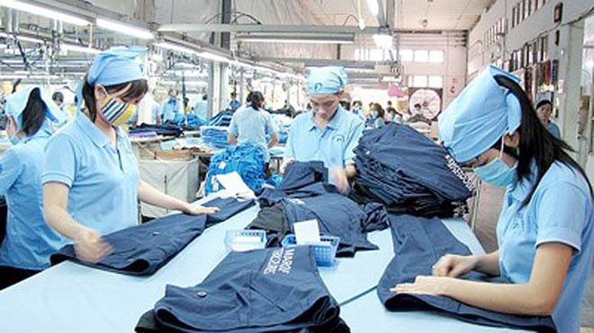 Giá trị hàng Dệt may sau gia công với nguyên liệu đầu vào thuộc sở hữu của đối tác Australia và Đài Loan được để lại tiêu thụ tại Việt Nam đạt giá trị cao nhất với 77 triệu USD và 65 triệu USD. Ảnh minh hoạ: Internet.