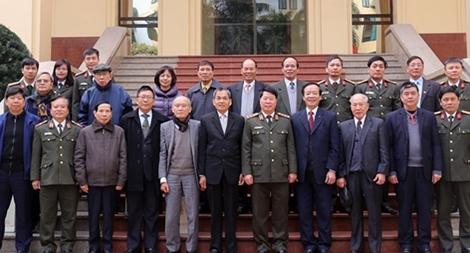 Gặp mặt Ban liên lạc cựu chuyên gia Bộ Công an Việt Nam tại Campuchia