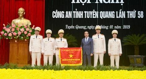 Công an tỉnh Tuyên Quang tổng kết công tác năm 2018, triển khai công tác năm 2019