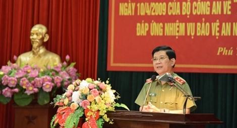 Công an tỉnh Phú Thọ tổng kết 10 năm thực hiện Chỉ thị số 03/CT-BCA-X11