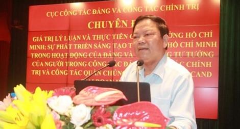 Vận dụng tư tưởng Chủ tịch Hồ Chí Minh trong công tác Đảng và công tác quần chúng