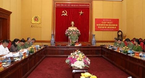 Bộ Công an gặp mặt các đại biểu Quốc hội trong CAND