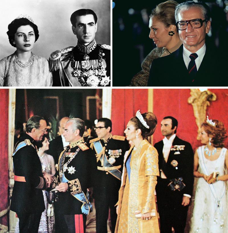 Quốc vương Shah Pahlavi.