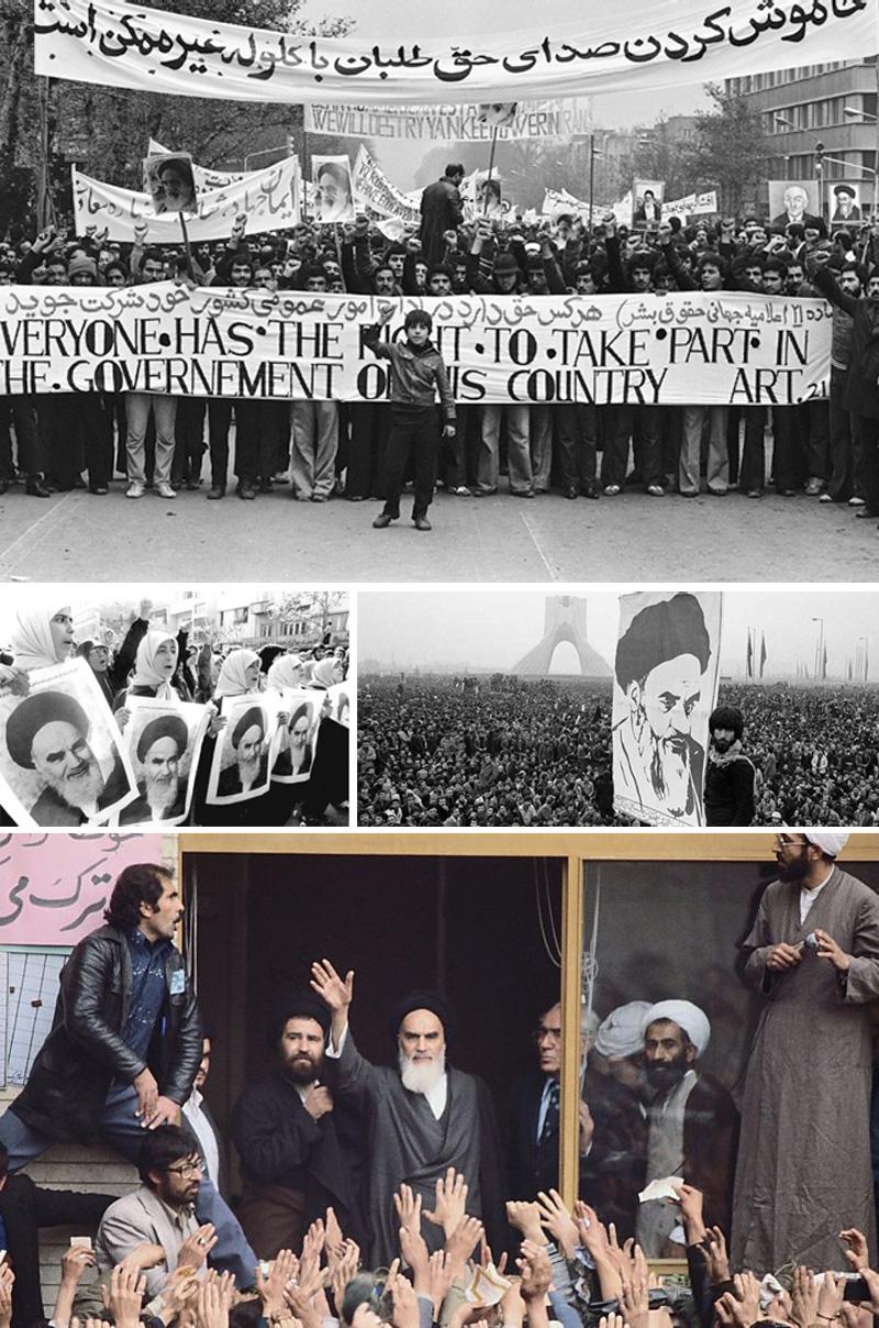 Cuộc Cách mạng Hồi giáo ở Iran bắt đầu từ tháng 1-1978 và làm thay đổi mối quan hệ giữa Iran và Mỹ.