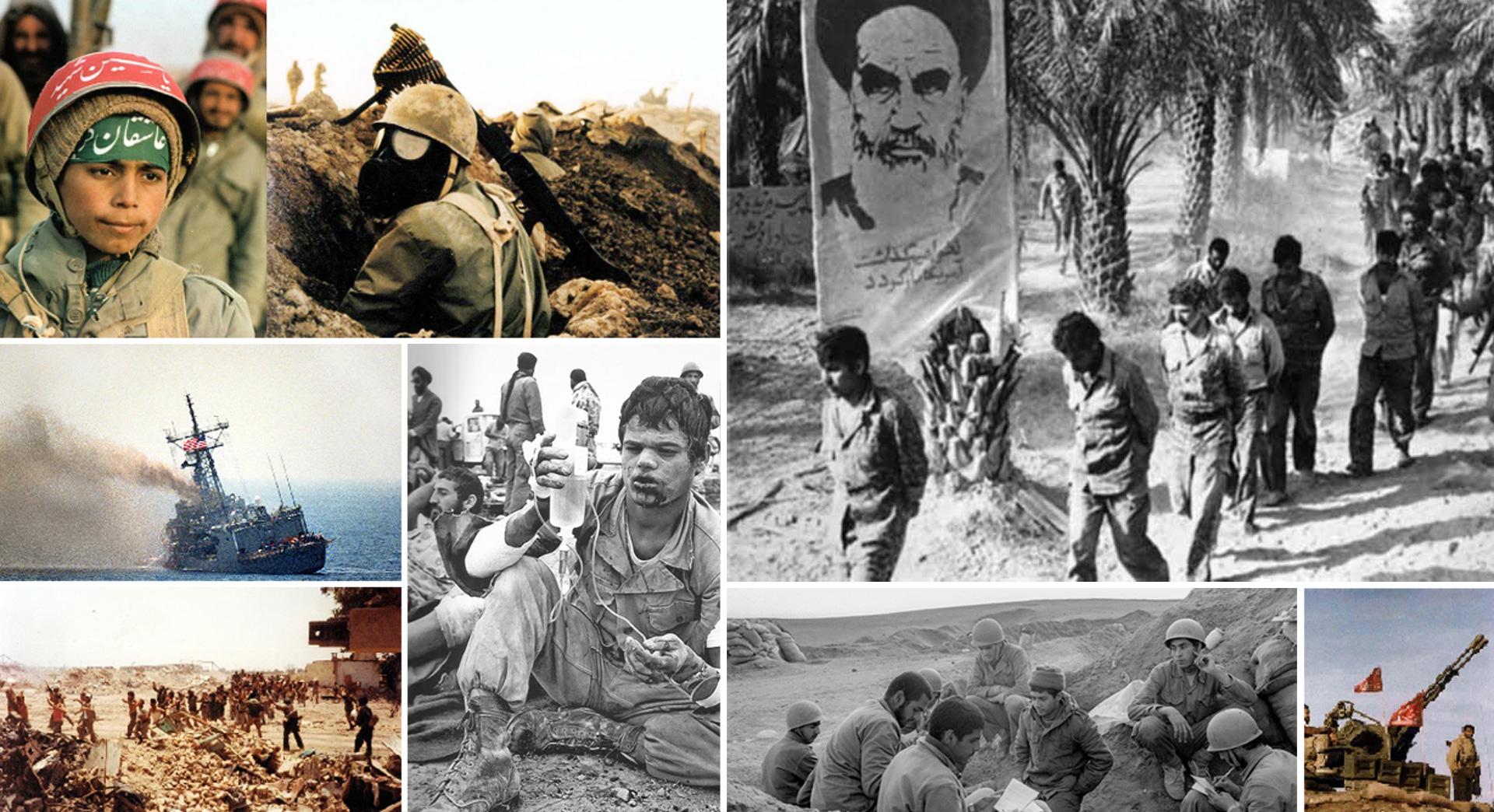 Chiến tranh Iran - Iraq nổ ra vào năm 1980.
