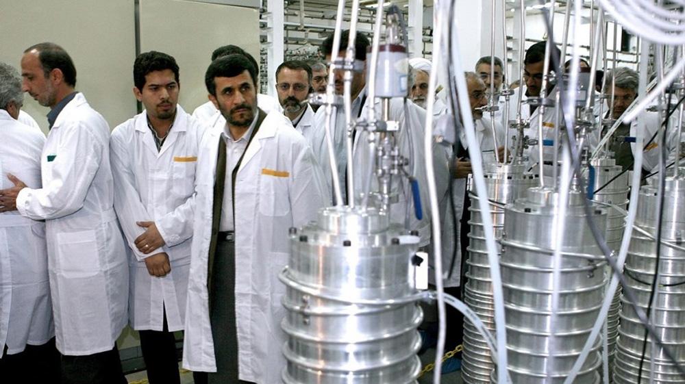 Năng lực hạt nhân của Iran sau đó được tăng cường đáng kể chỉ trong thời gian ngắn dưới thời Tổng thống Mahmoud Ahmadinejad.