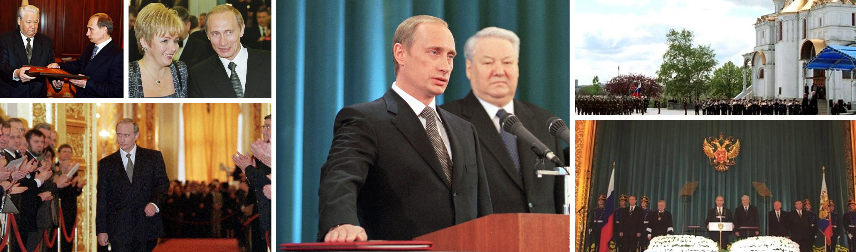 Ông Putin lên làm Tổng thống Nga năm 2000.