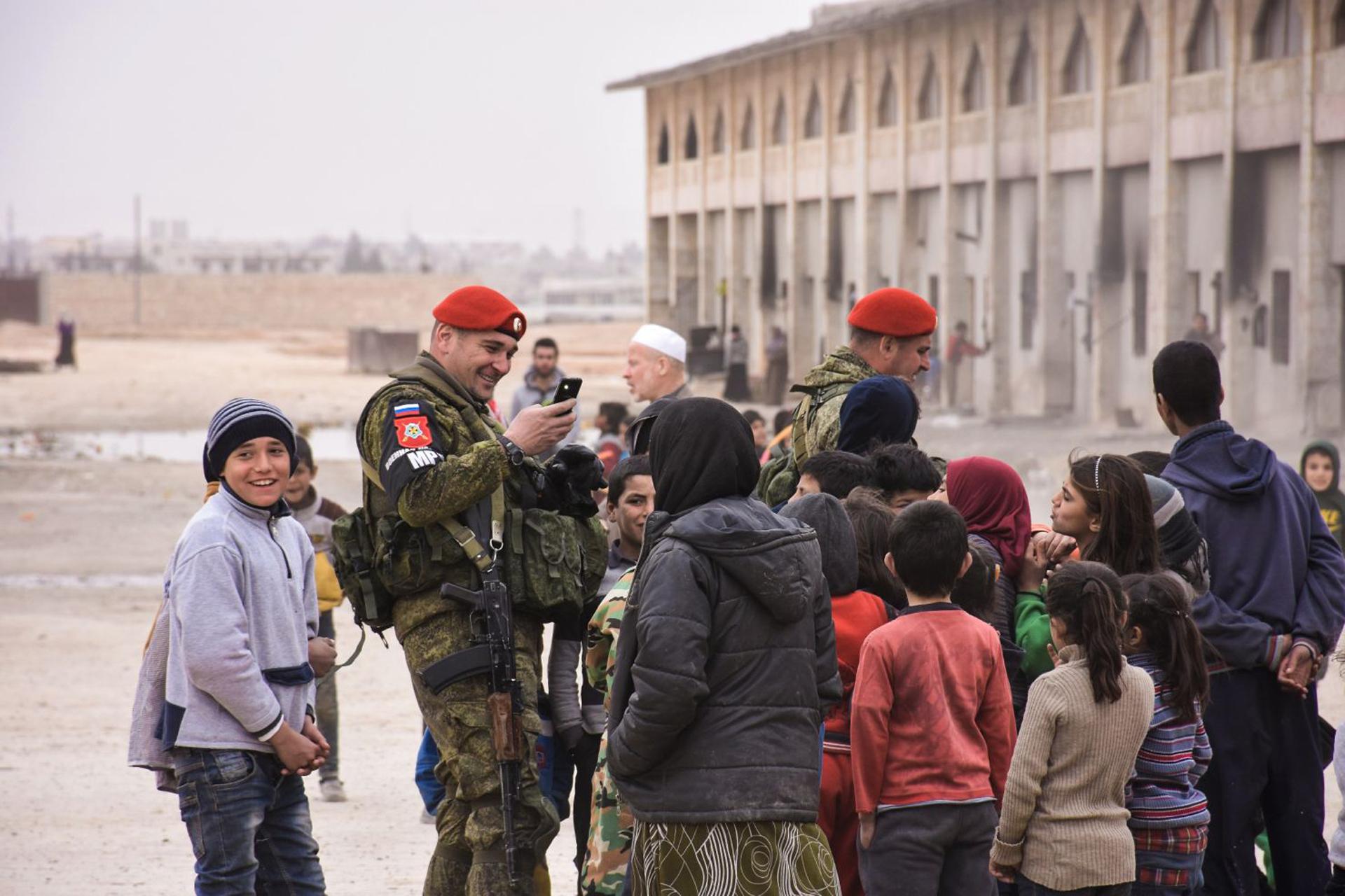 Quân đội Nga ở Syria.
