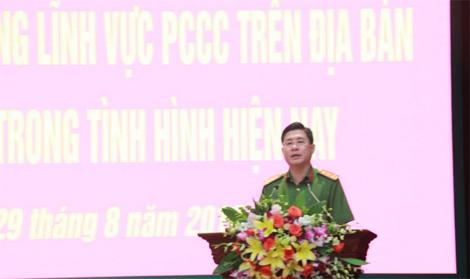 Giải quyết các vướng mắc trong công tác xử lý vi phạm hành chính về PCCC