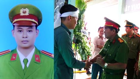 Tiễn biệt Trung úy Tống Duy Tân - người chiến sĩ Công an ngã xuống vì bình yên cuộc sống