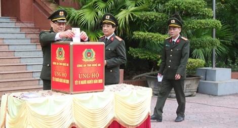 Công an Nghệ An phát động ủng hộ Tết vì người nghèo 2020