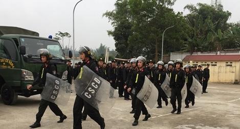 Tăng cường lực lượng cho Công an huyện giữ gìn ANTT trong dịp Tết