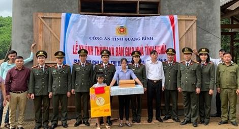 """Công an tỉnh Quảng Bình với nhiều hoạt động """"Tết cho người nghèo"""""""