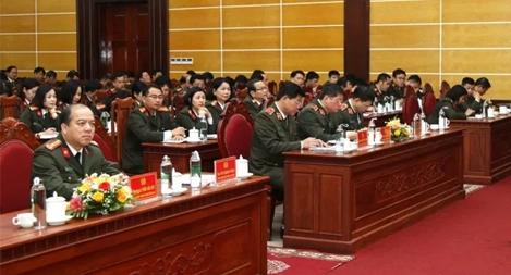 Hội nghị tập huấn công tác thanh tra CAND