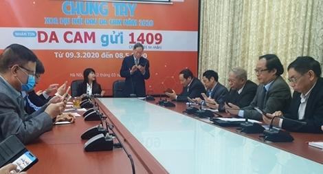 Phát động nhắn tin ủng hộ nạn nhân chất độc da cam năm 2020