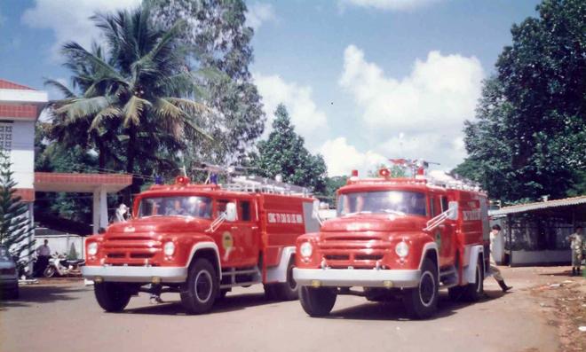 Người chế tạo xe chữa cháy đầu tiên tại Việt Nam