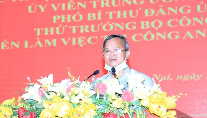 Thứ trưởng Lê Quý Vương làm việc tại Công an tỉnh Đồng Nai - Ảnh minh hoạ 4