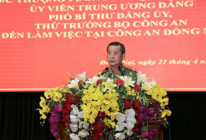 Thứ trưởng Lê Quý Vương làm việc tại Công an tỉnh Đồng Nai - Ảnh minh hoạ 2