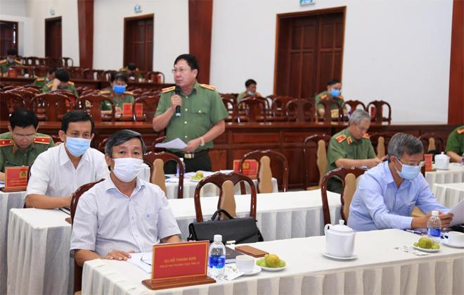 Thứ trưởng Lê Quý Vương làm việc tại Công an tỉnh Đồng Nai - Ảnh minh hoạ 6