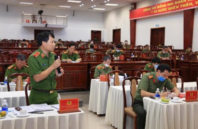 Thứ trưởng Lê Quý Vương làm việc tại Công an tỉnh Đồng Nai - Ảnh minh hoạ 3