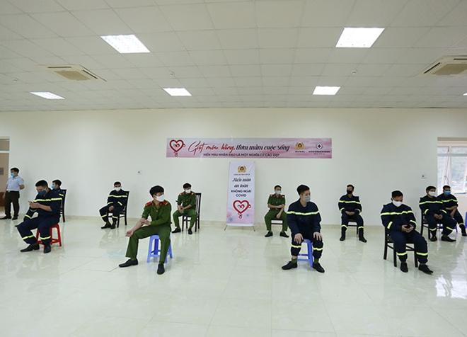 Công an tỉnh Sơn La tổ chức hiến máu tình nguyện